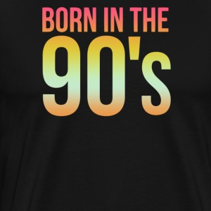 Born in the 90s - Men's Premium T-Shirt