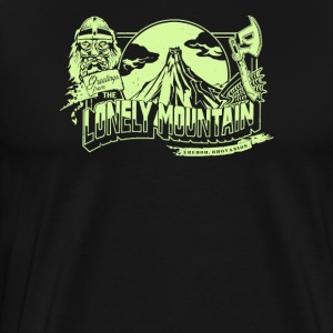 the lonely mountain - Men's Premium T-Shirt