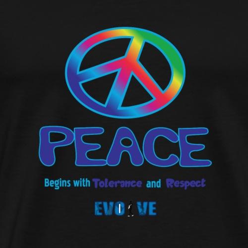 peace sign shirt - Men's Premium T-Shirt