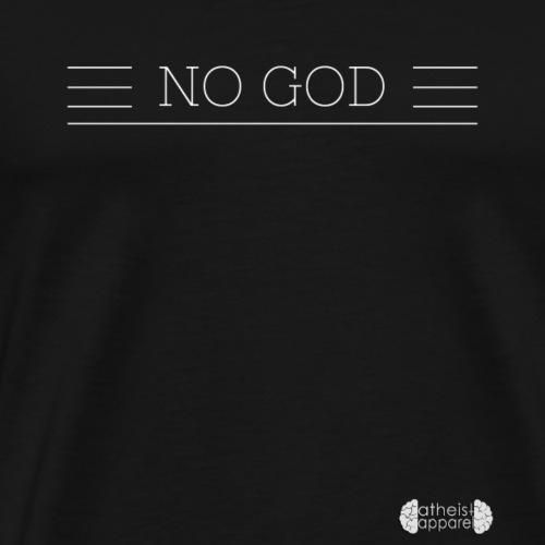 No God - Men's Premium T-Shirt