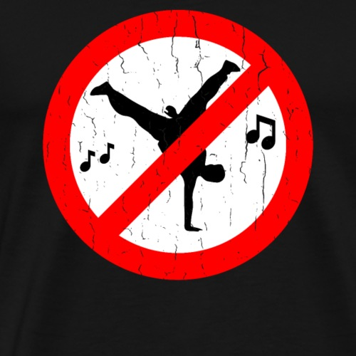 No Dancing T Shirt - Men's Premium T-Shirt