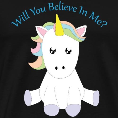 Will You Believe In Me? - Men's Premium T-Shirt