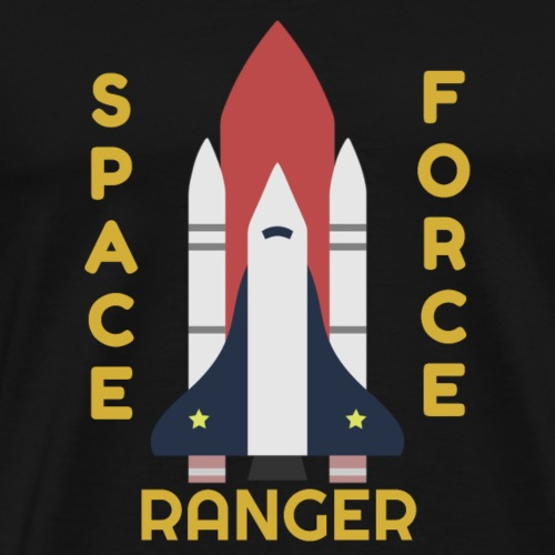 Space Force Corps Ranger, Donald Trump Military - Men's Premium T-Shirt