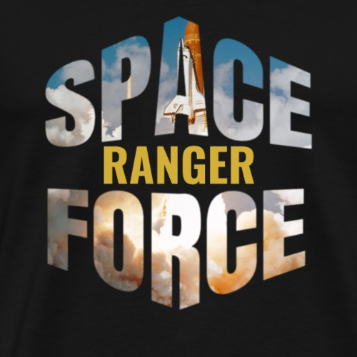 Space Force Corps Ranger Donald Trump Military - Men's Premium T-Shirt