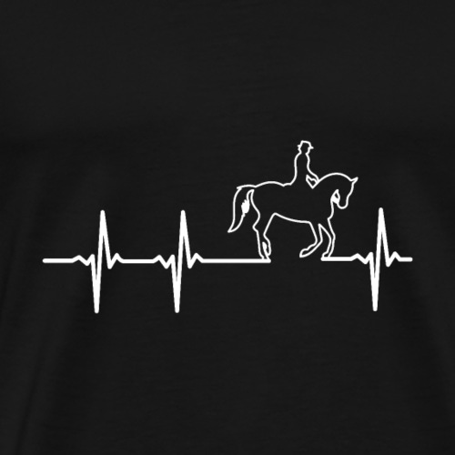 Live for Ride a Horse like Cavalry - Men's Premium T-Shirt