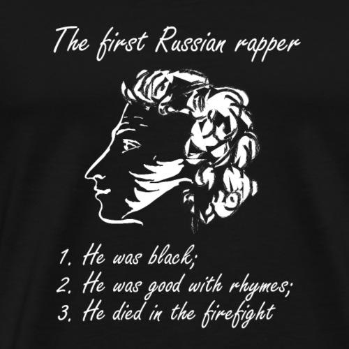 Pushkin Rapper - Men's Premium T-Shirt