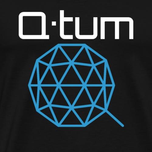 Q-tum (QTUM) Logo Cryptocurrency - Men's Premium T-Shirt