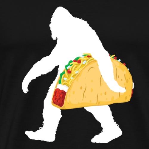 bigfoot taco funny shirt for taco lovers - Men's Premium T-Shirt