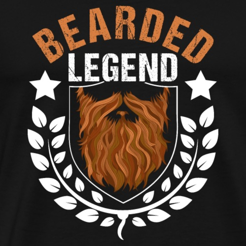 Bearded Legend - Men's Premium T-Shirt