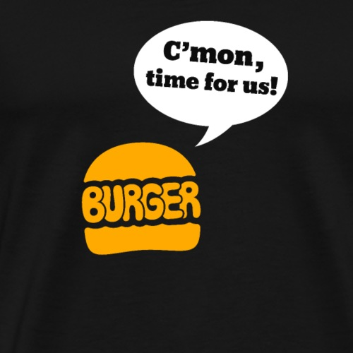 Burger - Men's Premium T-Shirt