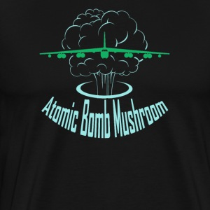 Atomic Bomb Mushroom - Men's Premium T-Shirt