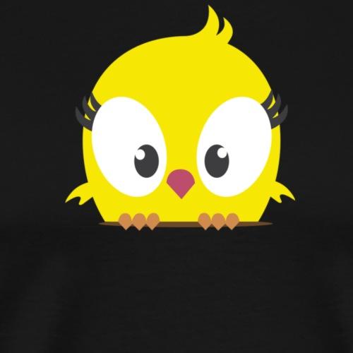 Bird Yellow - Men's Premium T-Shirt