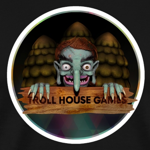 Troll House Games Logo - Men's Premium T-Shirt