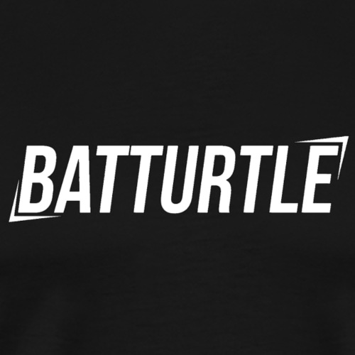 BatTurtle - White - - Men's Premium T-Shirt