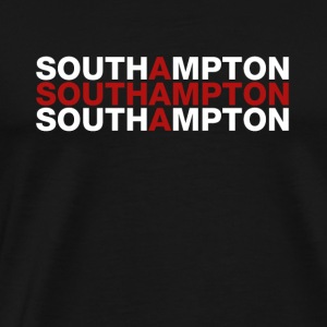 Southamphton United Kingdom Flag Shirt - Men's Premium T-Shirt