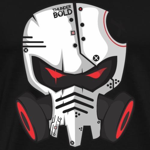 gas mask skeleton - Men's Premium T-Shirt