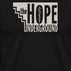 The hope underground - Men's Premium T-Shirt