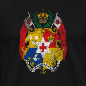 Tongan Coat of Arms Tonga Symbol - Men's Premium T-Shirt
