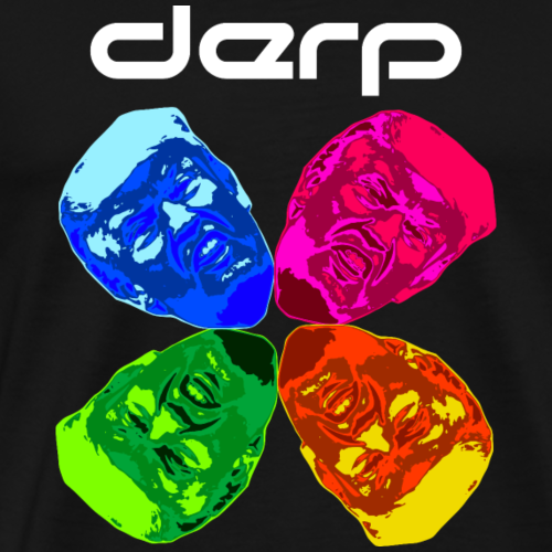Derp Wheel - Men's Premium T-Shirt