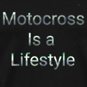 Motocross is a lifestyle - Men's Premium T-Shirt
