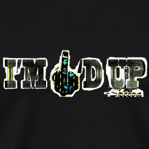 Skeeba I'm F'd Up Design (NEW) - Men's Premium T-Shirt