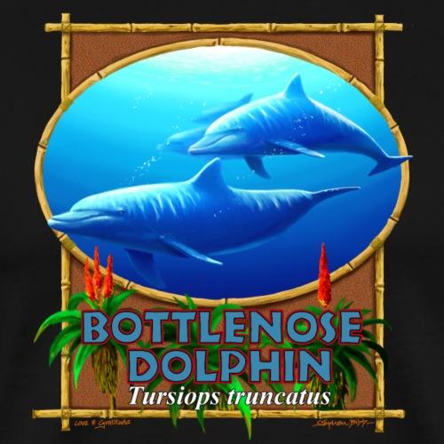 bottlenose dolphins - Men's Premium T-Shirt
