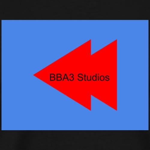 BBA3 Logo - Men's Premium T-Shirt