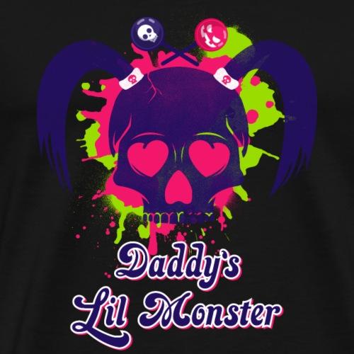Daddys Lil Monster - Men's Premium T-Shirt