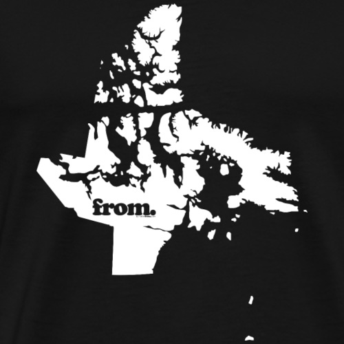 from nunavut - Men's Premium T-Shirt