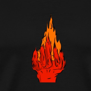 Fire Hands - Men's Premium T-Shirt