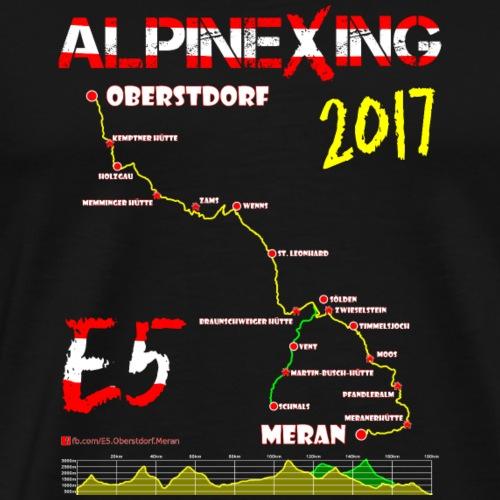 E5 Oberstdorf Meran 2017 - Men's Premium T-Shirt