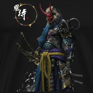 Ghost samurai - Men's Premium T-Shirt