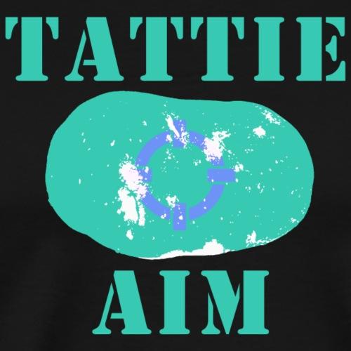 Tattie (Potato) Aim - Men's Premium T-Shirt