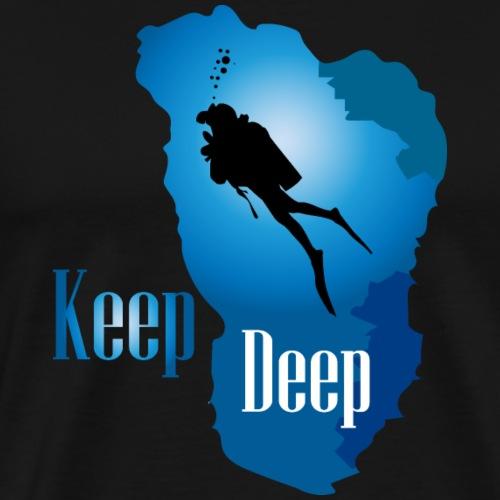 Keep Deep - Men's Premium T-Shirt