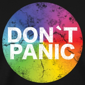 Birthday T-Shirt - DON`T PANIC - Men's Premium T-Shirt