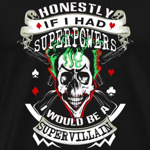 Super villain - Men's Premium T-Shirt