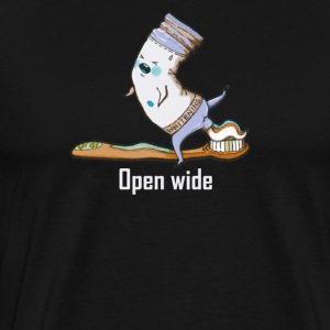 Open wide - Men's Premium T-Shirt