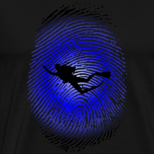 Fingerprint_02 - Men's Premium T-Shirt