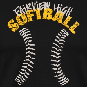 Fairview High Softball - Men's Premium T-Shirt