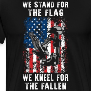 We Stand For The Flag TShirt - Men's Premium T-Shirt