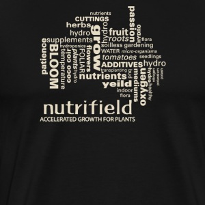 Nutrifield accelerated growth for plants - Men's Premium T-Shirt