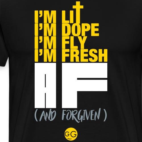 AF (And Forgiven) - Men's Premium T-Shirt