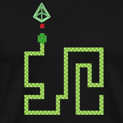 Game Snake Snek - Men's Premium T-Shirt