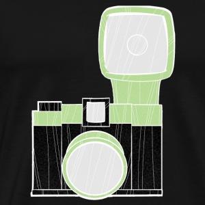 diana camera ltgreen - Men's Premium T-Shirt