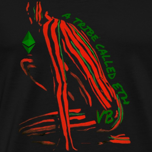 A Tribe Called ETH - Red - Men's Premium T-Shirt