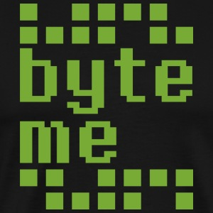 Byte Me T Shirt - Men's Premium T-Shirt