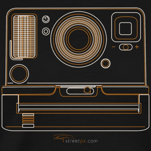 Camera Sketches - Polaroid OneStep2 - Men's Premium T-Shirt