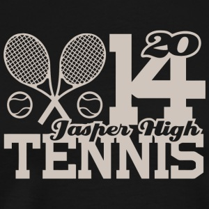 2014 Jasper High Tennis - Men's Premium T-Shirt