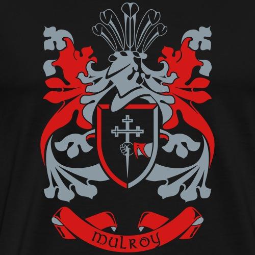 Family Crest: Mulroy - Men's Premium T-Shirt
