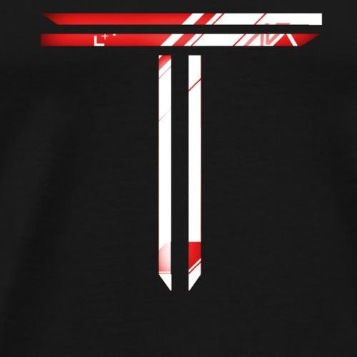 Red T Logo - Men's Premium T-Shirt